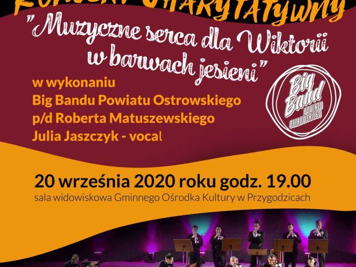 Big Band Powiatu Ostrowskiego dla Wiktorii Gabryś